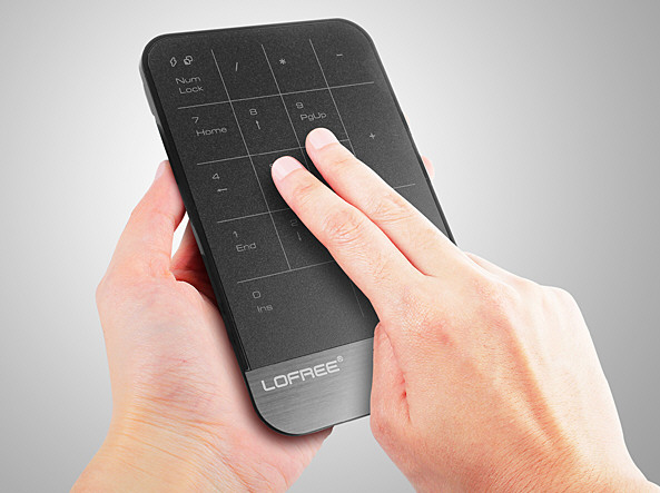LOFREE MT-100 Wireless TouchPad – wire free multitouch panel makes mices redundants