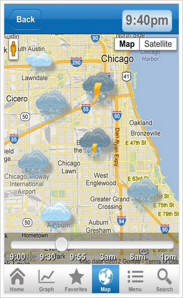 Nooly Micro Weather – the weather, your exact location, at that moment [Freeware]