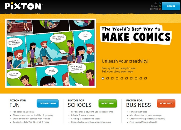 Pixton – the funnest free comic maker you'll find on the web