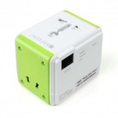 Satechi Smart Travel Router – super cool travel adapter, USB charger and WiFi genius in one