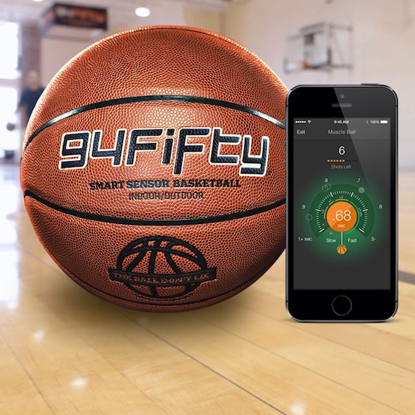 94Fifty Smart Sensor Basketball – all you need is a smartphone as your coach