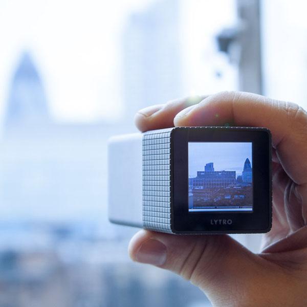 Lytro Light Field Camera – Correct the focus after it's taken