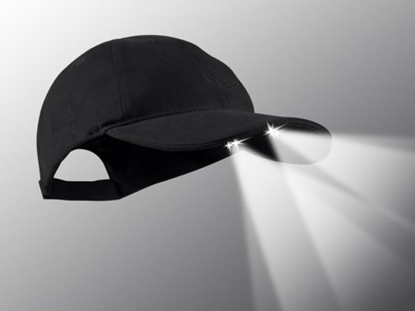 PowerCap – The head-topper that lights the way