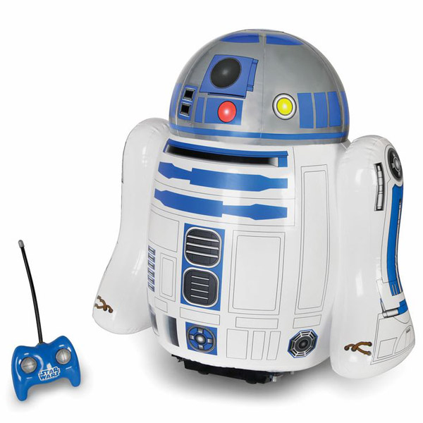 RC Inflatable R2-D2 – Blow up the droid, in a friendly non-destructive way