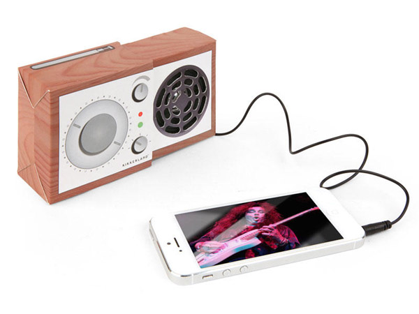 Wood Radio Slide-Out Speaker – Sometimes simple is all we really need