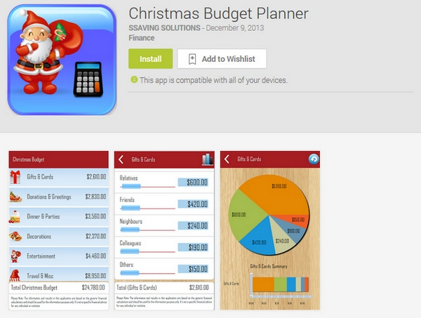 Christmas Budget Planner – take the stress out of the holiday with this handy free app [Freeware]
