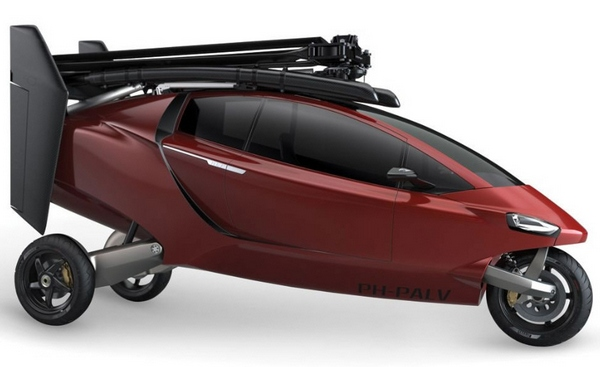 PAL-V Helicycle – your Jetson's flying car has just arrived and awaits your orders