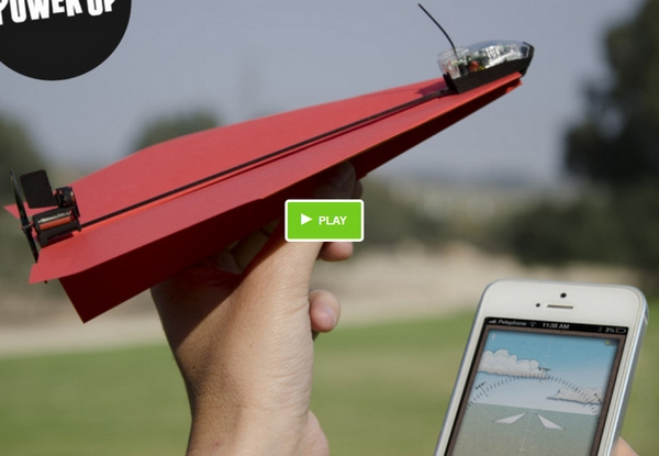 PowerUp 3.0 – fold it, launch it, fly it…with your phone