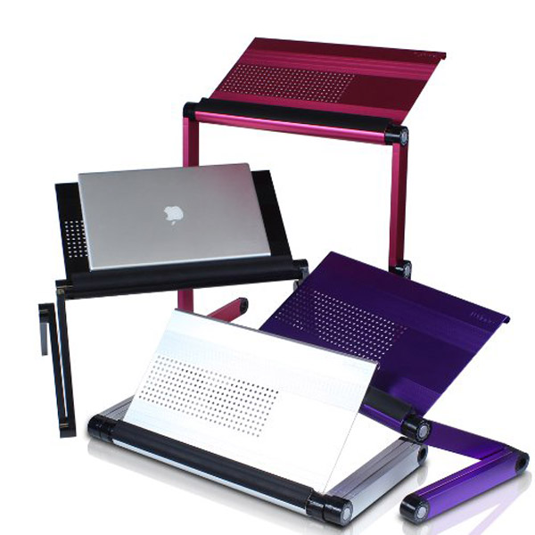 Adjustable Vented Laptop Table – Don't lose your cool.