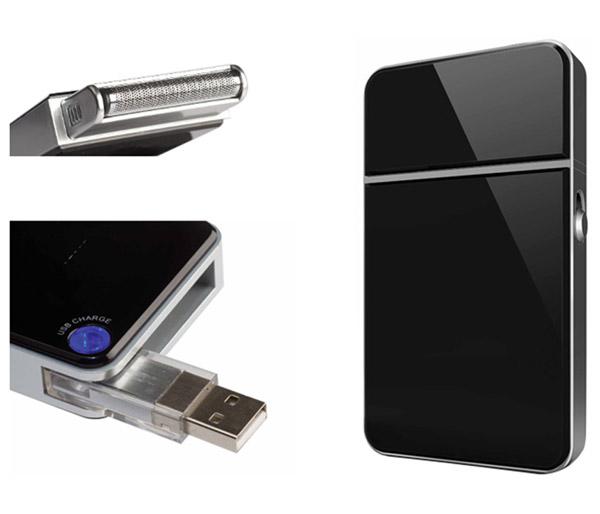 Rechargeable USB Travel Razor
