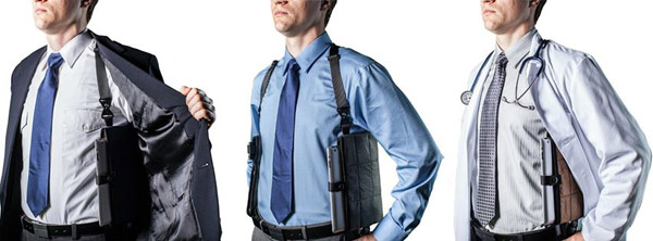 Techslinger – Geeky holster keeps all your gadget goodies available