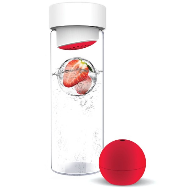 Fruit Iceball Maker – transforms your boring old glass of water into a refreshing fruity drink