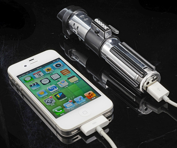 Star Wars Darth Vader Lightsaber Battery Charger – charge up your mobile devices…no force necessary
