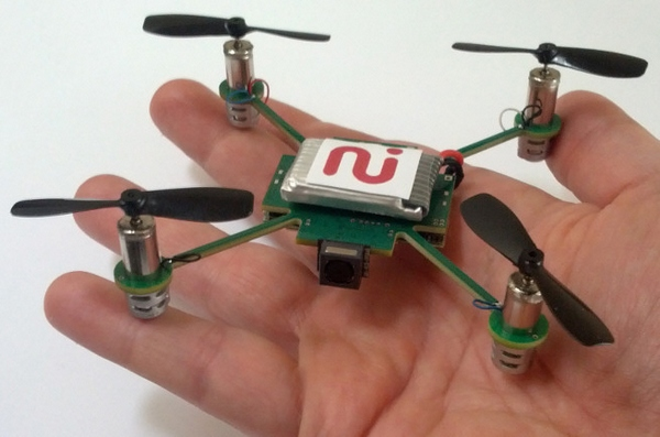 MeCam – a flying camera that follows you around locked to your smartphone. Scary?