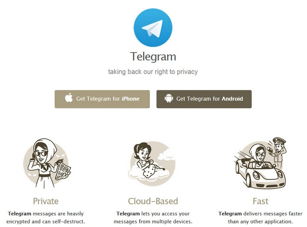 Telegram – open source, ultra secure messaging service takes on WhatsApp and other proprietary products [Freeware]