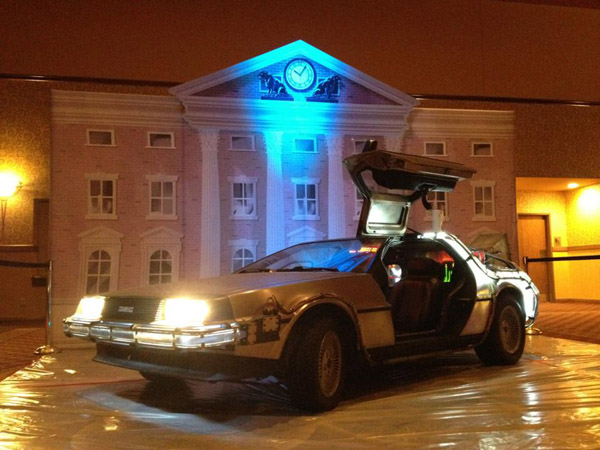 Your Very Own Back to the Future 1981 DeLorean Time Machine