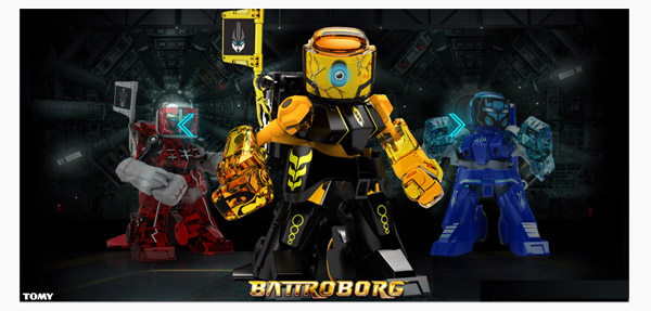 Battroborgs – Rock 'Em Sock 'Em Robots get an upgrade