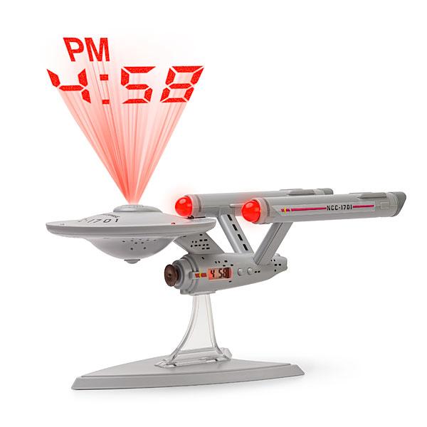 Star Trek Enterprise Projection Alarm Clock – Beam me the time, Scotty.