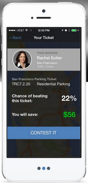 Fixed – automated parking ticket challenger gets a real app