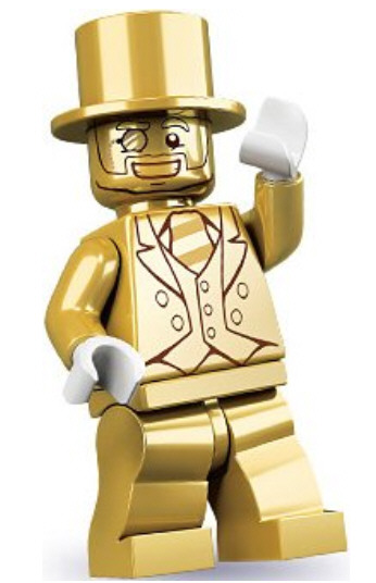 Mr Gold LEGO – or how to waste up to $1200 on a so-called collectible
