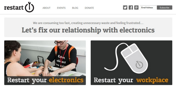 The Restart Project – free help to repair your electronics instead of throwing them away, good citizen style