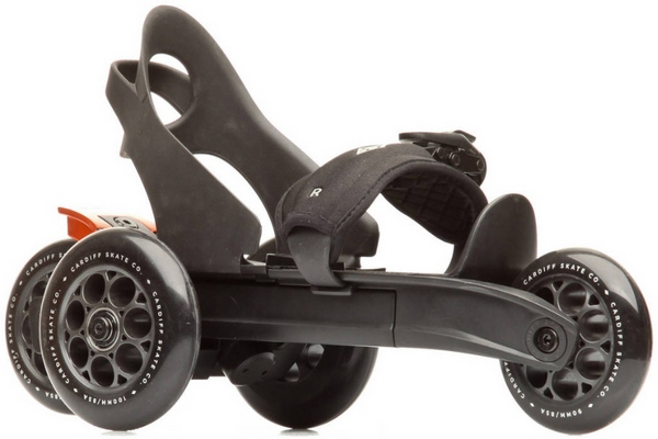 Cardiff S1 Skates – all the fun of inlines, with the practicality of a skateboard