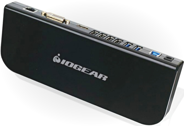 Iogear USB 3 Universal Docking Station – turn your tablet into a desktop PC with a few cables