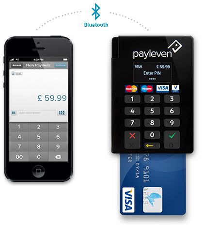 Payleven – accept credit cards anywhere with your mobile phone