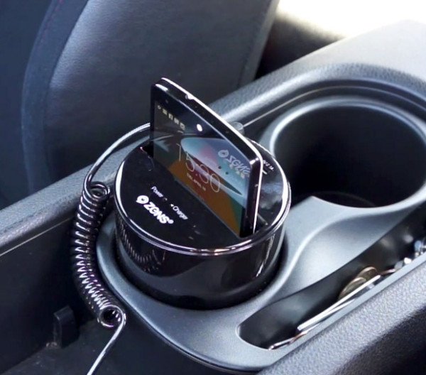 ZENS Qi Wireless Car Charger – untangle yourself from the horrors of cables