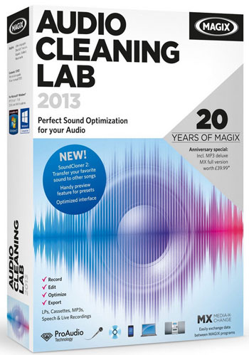 Magix Audio Cleaning Lab 2013 – if you're serious about cleaning and editing audio, this is a must-have tool [Review]