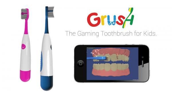 grush GRUSH   the gaming toothbrush for kids