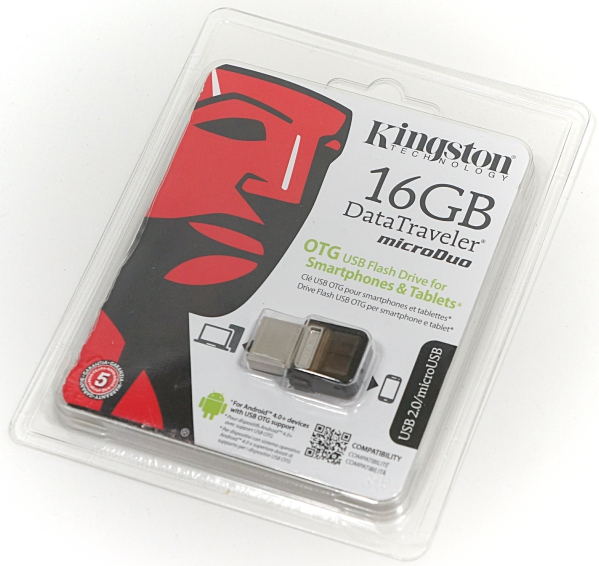 Kingston Data Traveler Micro Duo 16GB – the perfect keychain data mover for phones [Review]
