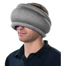 ostrichpillowlite 1 Ostrich Pillow Lite   power napping pillow gets a more crowd friendly makeover