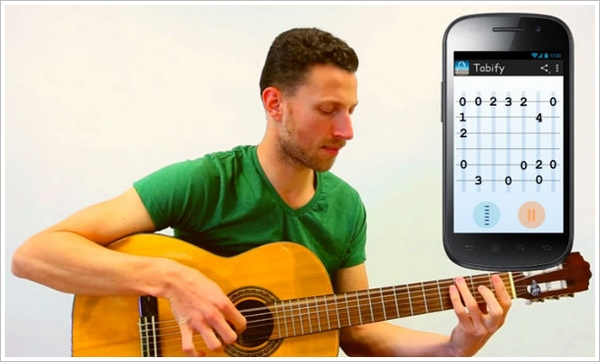 Tabify – record your guitar playing and turn it into tablature automatically