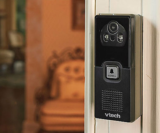 VTech DECT Video Doorbell – now your cordless phone is also a security monitor for the front door