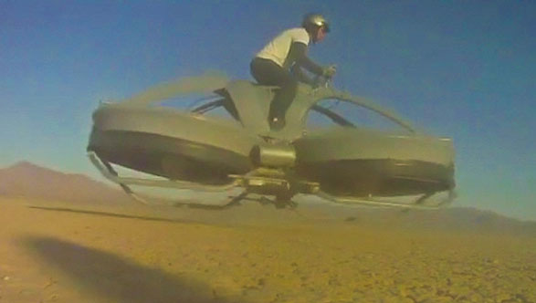 Aero-X Hovercraft – the crazy new-school way of getting around