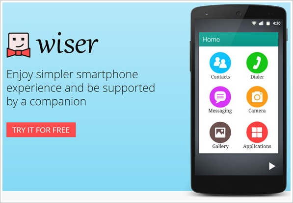 Wiser – the perfect alternative to complex smartphone screens [Freeware]