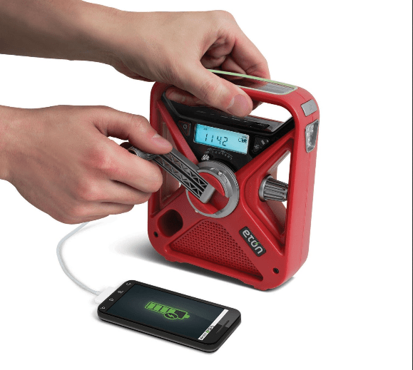 Red Cross FRX3 Eton Emergency Radio – this is the box you really need when you're in trouble