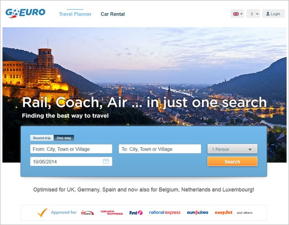 goeuro GoEuro   the most complete travel search engine for Europe youll find