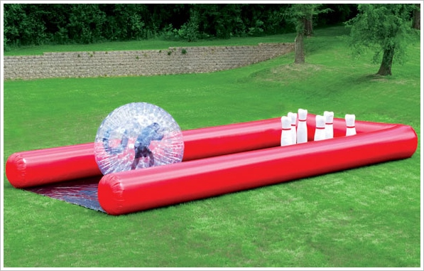 Human Bowling Ball – work out while you play out