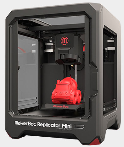 MakerBot Replicator Mini - The Next Gen 3D Printer for Your Home Makes Life Easier