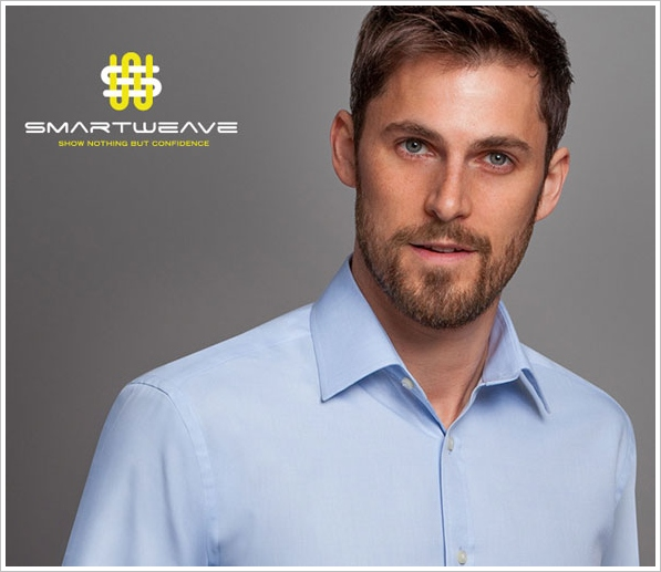SmartWeave – finally an anti stain work shirt that lets you bike to work and still look cool