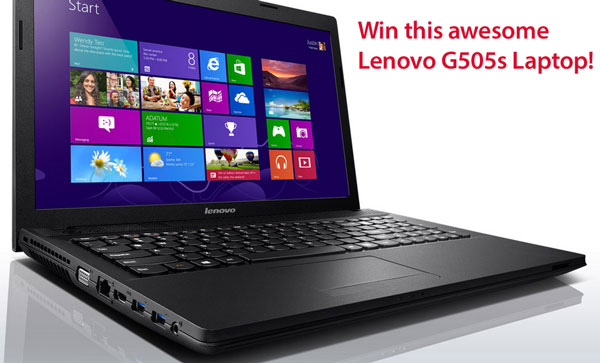 Red Ferret Lenovo Laptop Giveaway – we have a winner!