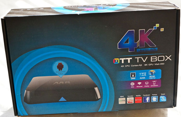 M8 4K TV Box – stylish, powerful Android TV box delivers 4K ultra high resolution Internet, games and more to your television [Review]