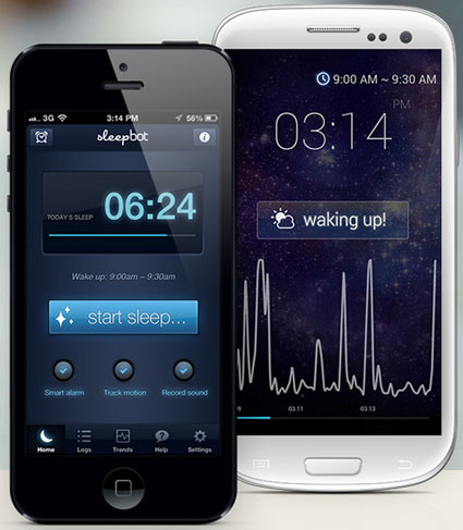 SleepBot – this sleep cycle alarm helps you sleep better, wake refreshed [Freeware]