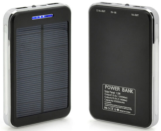 Solar Power Bank – ultra cheap 20000mAh power block will keep your phone or tablet charged for decades [Updated Review]