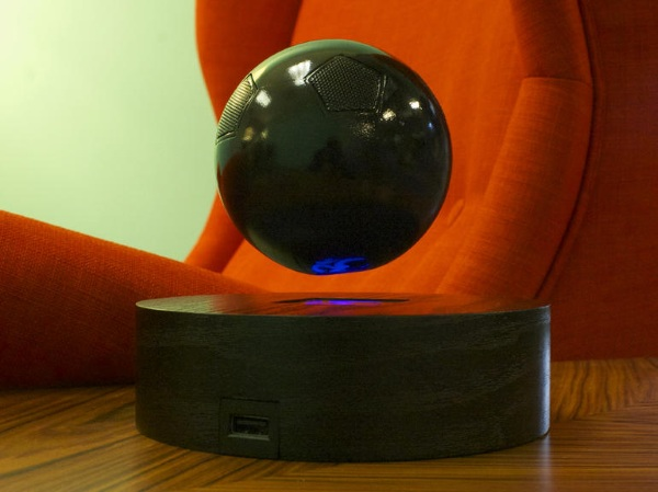 Om One – world's first levitating speaker. Why? Because they can…