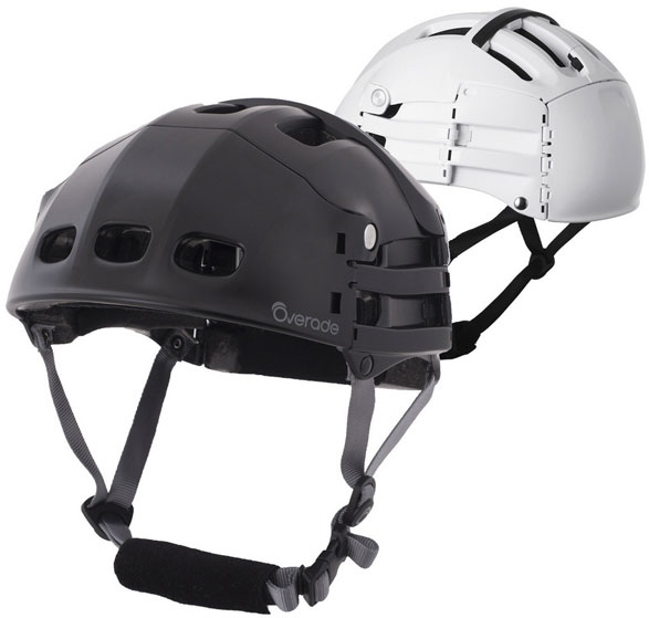 Overade Plixi – the folding bike helmet that saves space and could save your life