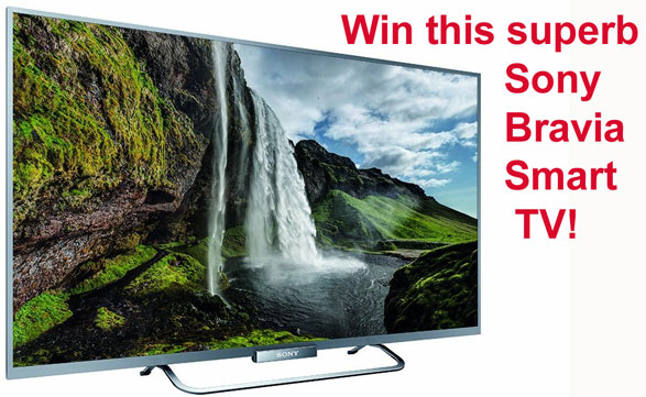 Red Ferret Sony Bravia W65 Smart TV Giveaway – FINAL 24 HOURS!!