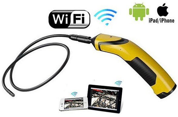 WiFi Inspection Camera For Smartphones – now you can view (and record) stuff you probably wish you couldn't